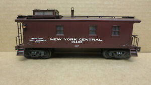 Williams Brass Caboose 19400 New York Central 2957 3 Rail O-Scale