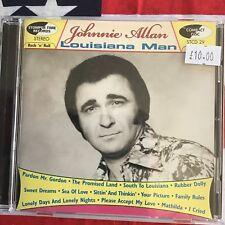Johnnie Allan - Louisiana Man...Rockabilly cd...Stomper Time Records
