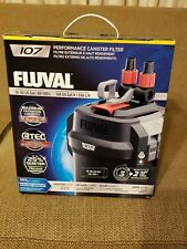 NEW Fluval 107 Performance Canister Filter 10 to 30 Gallon Aquariums A440