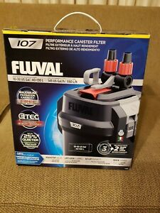 Fluval 107 Performance Canister Filter 10 to 30 Gallon Aquariums A440  NEW