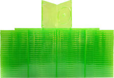 (100) VGBR14XBOX XBox 360 Translucent GREEN Empty DVD Game Boxes Cases X-Box NEW