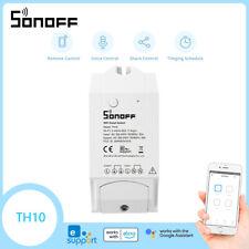 Sonoff Original TH10 Monitoramento De Temperatura Umidade interruptor inteligente WiFi App Para Casa