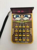 Vintage 1978 Texas Instruments Little Professor Calculator Works!
