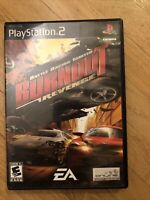Burnout: Revenge (Sony PlayStation 2, 2005) - Complete- CIB