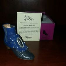 * Nib Just The Right Shoe By Raine 1999 Victorian Ankle Boot #25089