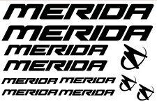 11 pegatinas de vinilo MERIDA  para bicicleta,no 547