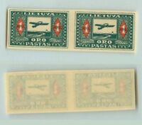 Lithuania 🇱🇹  1921  SC  C5a  MNH imperf, pair. rt6100
