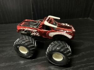 Monster Jam 2003 El Toro Loco Spectraflame Chrome Red Metal Collection