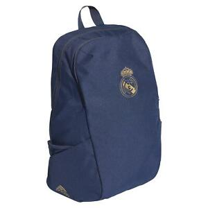 adidas REAL MADRID ID BACKPACK NAVY BAG FOOTBALL SOCCER SCHOOL COLLEGE FUTBOL