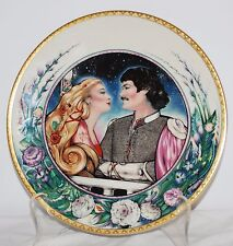 The Secret Romance 1st Issue in The Legends of Camelot Hamilton Collection Plate