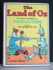 The Land of Oz L Frank Baum 1961 Reilly & Lee HDCVR Sequel to Wizard FREE SH