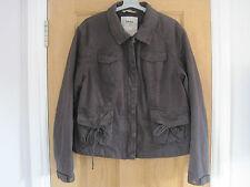 Women's TIMBERLAND  waterproof grey/purple cargo jacket UK 16