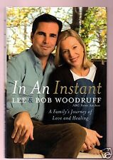 IN AN INSTANT -SHOT IN IRAQ ABC BOB WOODRUFF/LEE SIGNED 1ST-VERY GOOD