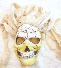 Skeleton Full Head Mask Halloween Cosplay Dress Up