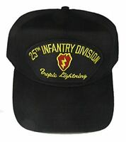 US ARMY 25TH INFANTRY DIVISION ID TROPIC LIGHTNING HAT CAP VETERAN STRYKER