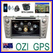 "8"" TOYOTA CAMRY AURION 07-11 OZI GPS DVD CD NAVIGATION BLUETOOTH STEREO +CAMERA"