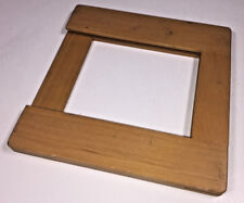 A wooden slot-in film / plate / print holder for 9.5 x 8.5 cm media from 1960s