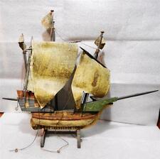 ANTIQUE WOODEN SANTA MARIA NAUTICAL SHIP MODEL - LB-C0589