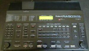 Roland RA-50 Midi Realtime Arranger Soundmodul Begleitautomat MT-32 Modus!