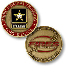 NEW U.S. Army Basic Combat Training Fort Sill, OK Challenge Coin