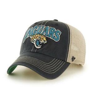 Jacksonville Jaguars NFL '47 Tuscaloosa Clean Up Trucker Mesh Cap Hat Adjustable