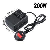 200W/300W Voltage Converter Transformer 220V To 110V AC Step Down Travel UK EU