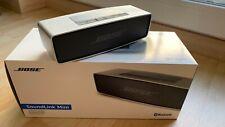 Bose SoundLink Mini Bluetooth Lautsprecher - Silber