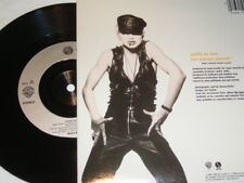 """7"""" - Madonna Justify my Love & Express yourself - 1990 MINT # 4498"""