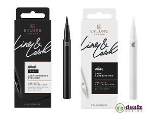Eylure Line & Lash Adhesive Glue Pen Eyeliner Eye Lash Smudge Proof