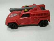 1994 Collectible Hot Wheels Red Diecast Porche 1968  Fire Truck