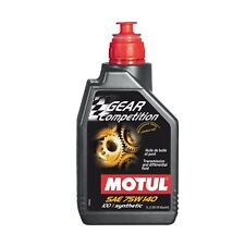 Motul 1Lt Olio Cambio Differenziale Gear Competition 75W140 LSD 100% Sintetico