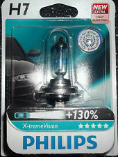 PHILIPS H7 XTREME VISION UPGRADE BULB SINGLE H7 X-TREME VISION H7+130%MORE LIGHT