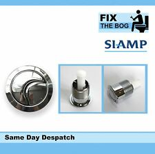 SIAMP Skipper Chrome Plated Dual Flush Button