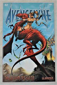 AVENGELYNE Dragon Realm #2 AUG 2001 Matt Martin Variant Avatar Press NM