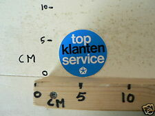 STICKER,DECAL SIMCA TOP KLANTEN SERVICE 5 CM