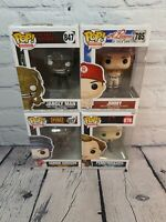 Funko Pop Bundle.4 Boxed pops. New old stock. Packaging may have minor damage