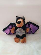 "Scooby-doo 10"" Halloween Bat Costume Bean Plush"