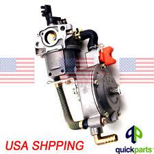 NEW Dual fuel carburetor LPG conversion kit for generator GX200 170F carb