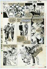 SPECTACULAR SPIDER-MAN ANNUAL #6 MARK BEACHUM MICHAEL JACKSON ORIGINAL ART