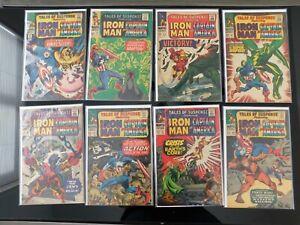 Marvel SA - Tales of Suspense - Captain America, Iron Man - 16 Issue Lot VG