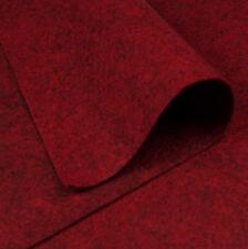 Woolfelt Burnt Crimson ~ 22cm x 90cm / quilting wool felt Christmas decoration
