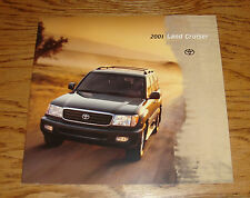 Original 2001 Toyota Land Cruiser Sales Brochure 01