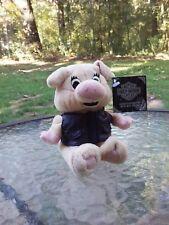 Harley Davidson Motorcycle Boot Hill Bob Plush Stuffed Hog Pig With Tag 1999 HOG