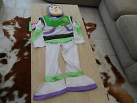 DISNEY TOY STORY BUZZ LIGHTYEAR FANCY DRESS COSTUME + MASK and WINGS  4-5yrs
