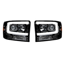 RECON FORD SUPER DUTY SMOKED OLED PROJECTOR HEADLIGHTS 99-04 PART# 264192BKC