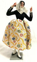 Vintage Marin Chiclana Spanish Dancer Doll With Castanets  Made in Spain