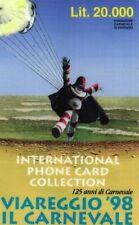 1225 SCHEDA TELEFONICA INTERNAZIONALE USATA G PC 19 PLANET VIAREGGIO 20000