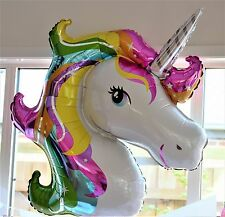 Unicorn Rainbow Balloon Large 83cm Birthday Party supplies Decoration USA Made