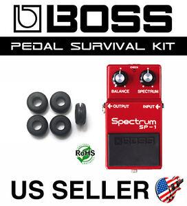 5 Pack BOSS Guitar Pedal Grommet Survival Kit O-Ring Upgrade Rubber Bushing Part