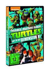 TMNT - TEENAGE MUTANT NINJA TURTELS: V8 AUF IN DIE DIMENSION X!  DVD NEU
